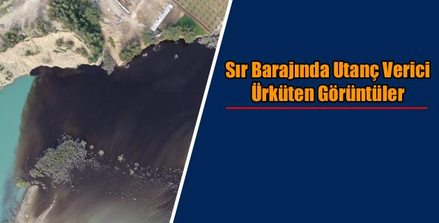 Sır Barajında Utanç Verici Ürküten Görüntüler