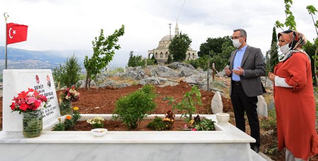 Başkan Güngör'den bayram ziyareti