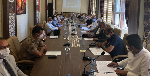 Kahramanmaraş Ceza İnfaz Kurumları Koordinasyon Kurulu toplantısı yapıldı