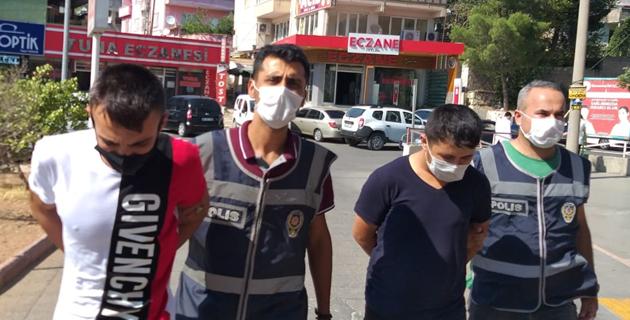 Kahramanmaraş'ta hırsızlık zanlısı iki kişi tutuklandı