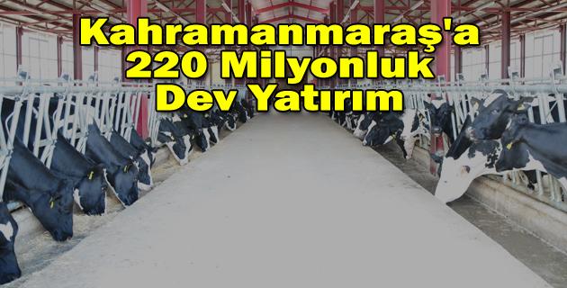 Kahramanmaraş'a 220 Milyonluk Yatırım