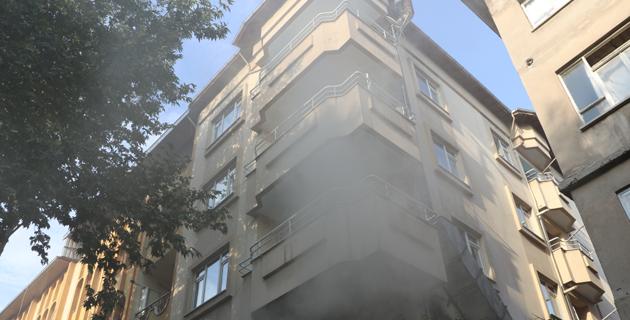 Kahramanmaraş'ta lokantada yangın çıktı