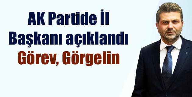 AK Partide İl Başkanı açıklandı