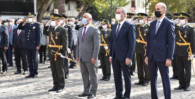 Kahramanmaraş'ta 29 Ekim Cumhuriyet Bayramı kutlanıyor