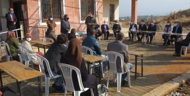 FAO Program Sorumlusu Ahaduzzaman'dan zeytin yetiştiriciliği kursiyerlerine ziyaret