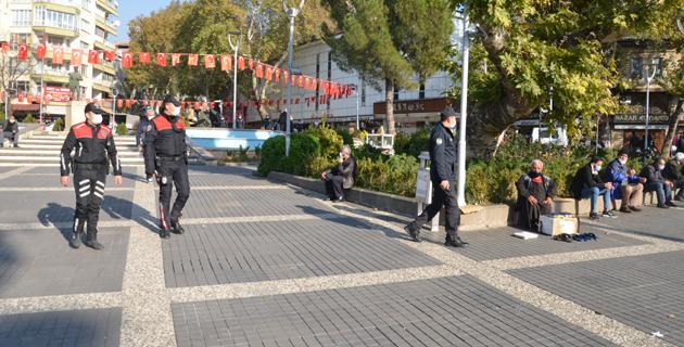 Kahramanmaraş'ta Kovid-19 denetimleri sürüyor