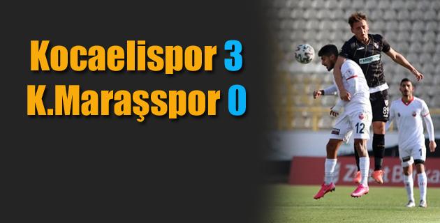 K.Maraşspor Kocaelispor'a 3-0 yenildi