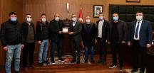 Kahramanmaraşspor'dan Başkan Güngör'e teşekkür ziyareti