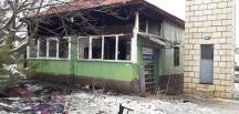Kahramanmaraş'ta bir camide yangın çıktı