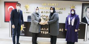 AK Parti'li Banu Pakdil, görevi Nursel Kaçamaz'a devretti