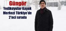 Güngör Yedikuyular Kayak Merkezi Türkiye'de 2'nci sırada