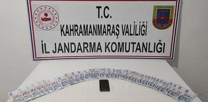 Kahramanmaraş'ta sahte dekont operasyonu