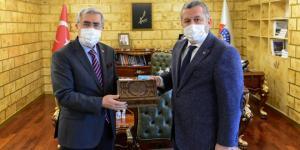 Yardımcıoğlu Rektör Can'ı Ziyaret Etti