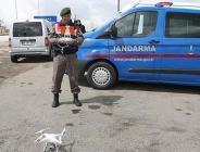 jandarma drone destekli trafik denetimi yaptı