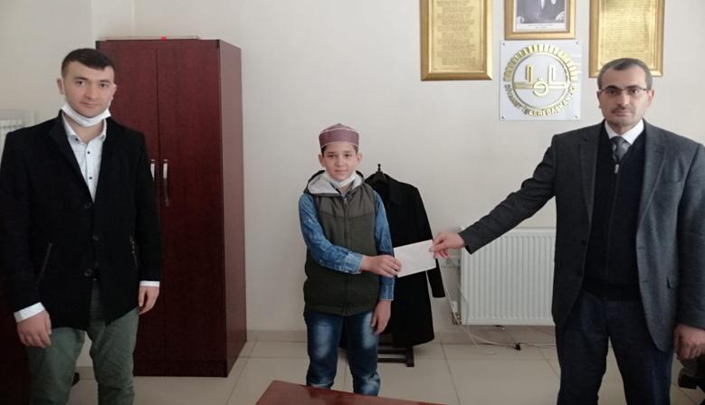 10 yaşında il birincisi oldu, hedefi Türkiye birinciliği!