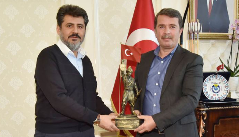 Debgici'den Başkan Okumuş'a ziyaret