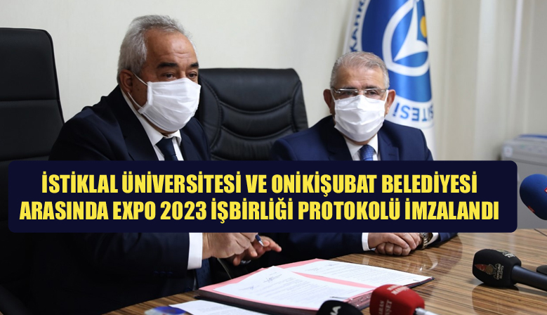 İSTİKLAL ÜNİVERSİTESİ İLE  EXPO ARASINDA 2023 İŞBİRLİĞİ PROTOKOLÜ İMZALANDI