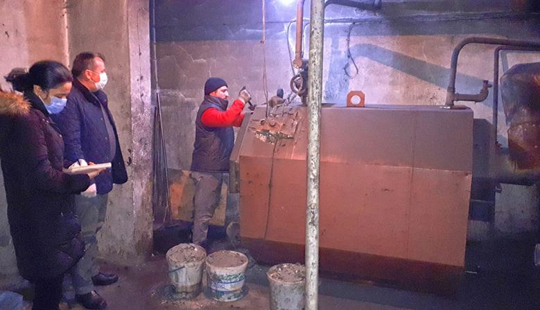 Kahramanmaraş'ta Isıtma Sistemleri Denetimi