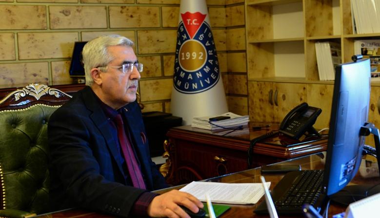 Ksü'de Çevirim İçi Çalıştay Düzenlendi