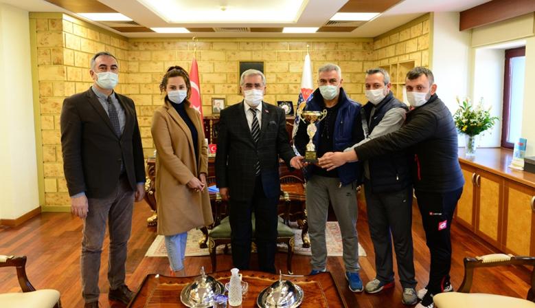 KSÜ Masa Tenisi Takımı,Türkiye Şampiyonası İl Elemelerinde Birincilik Elde Etti