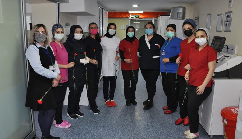Kahramanmaraş Özel Sular Vatan Hastanesi'nde Kadınlar Günü Etkinliği