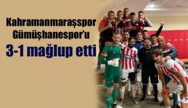 Kahramanmaraşspor Gümüşhanespor'u 3-1 mağlup etti