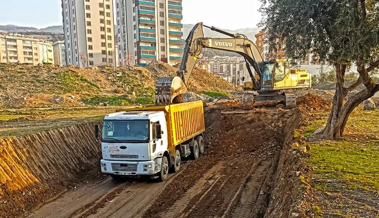 Kahramanmaraş'ta Doğukent'e Yeni Duble Yol