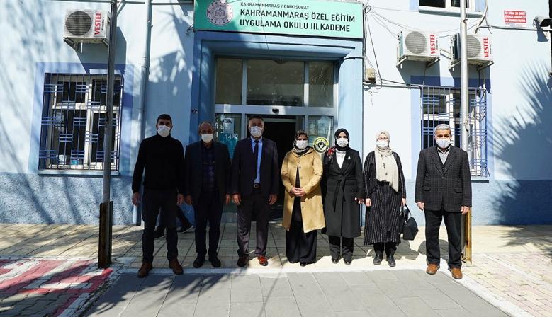 Kahramanmaraş'ta Özel Öğrencilere Anlamlı Ziyaret