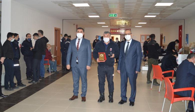 Kahramanmaraş'ta adliye ve cezaevi personeli kan bağışında bulundu