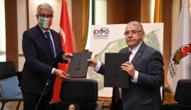Mahçiçek EXPO 2023 İçin İtalya ile Anlaşma İmzaladı
