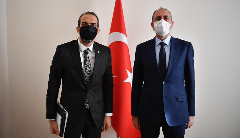 Milletvekili Özdemir, Bakan Gül ile görüştü!
