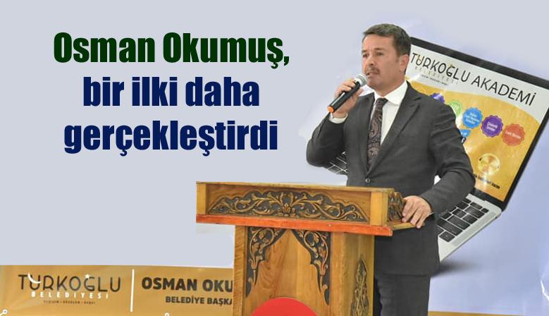 Osman Okumuş, bir ilki daha gerçekleştirdi