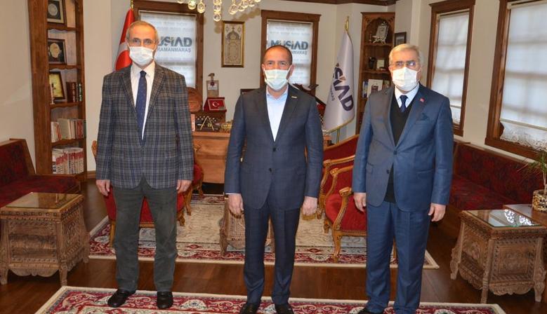Rektör Can Kervancıoğlu'nu Ziyaret Etti