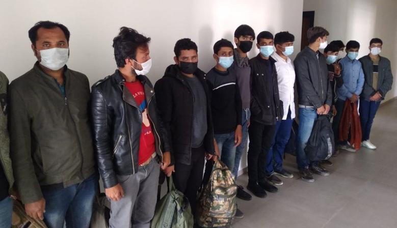 13 Kaçak Mülteci Kahramanmaraş'ta yakalandı