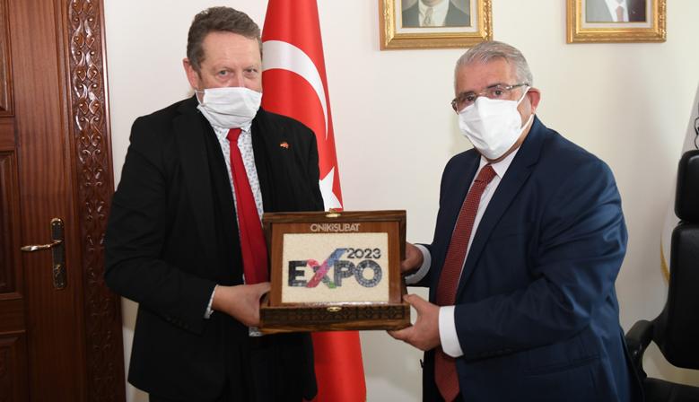 Alman Başkonsolusu'ndan EXPO 2023 Ziyaret