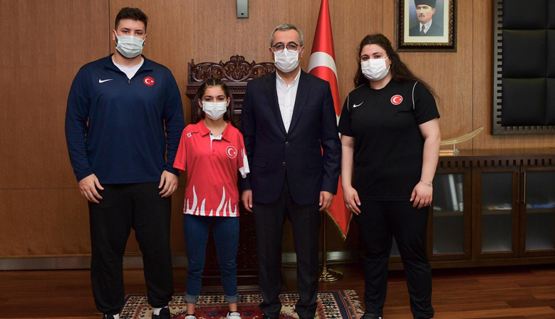 Kahramanmaraş Büyükşehir'li Sporculardan 7 Madalya