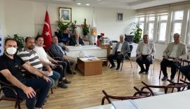DEVA'DAN AMATÖR SPOR KULÜPLERİ FEDERASYONUNA ZİYARET