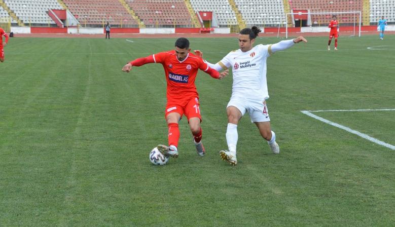Kahramanmaraşspor 1-0 mağlup oldu