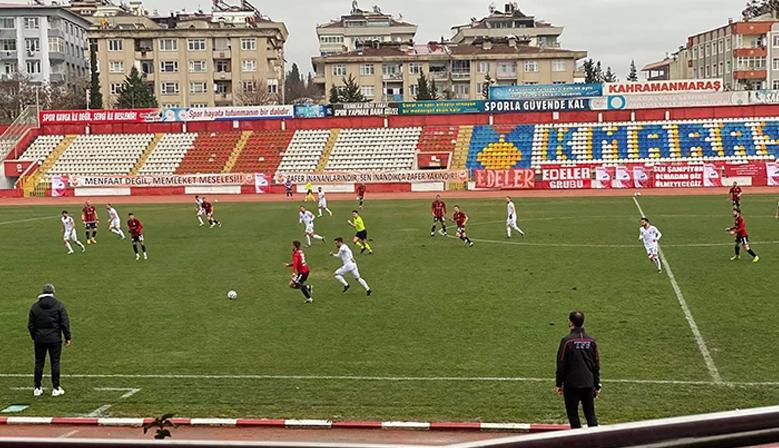 Kahramanmaraşspor Ankara Demirspor'a 1-0 Kaybetti