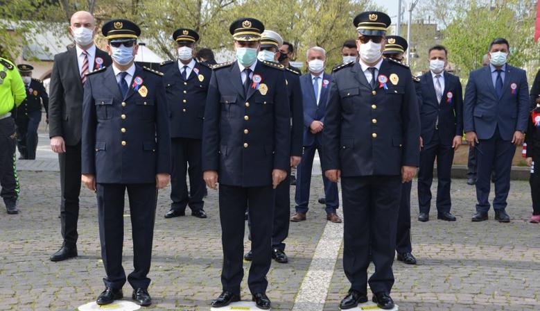 Türk Polis Teşkilatının 176. kuruluş yıl dönümü Kahramanmaraş'ta kutlandı
