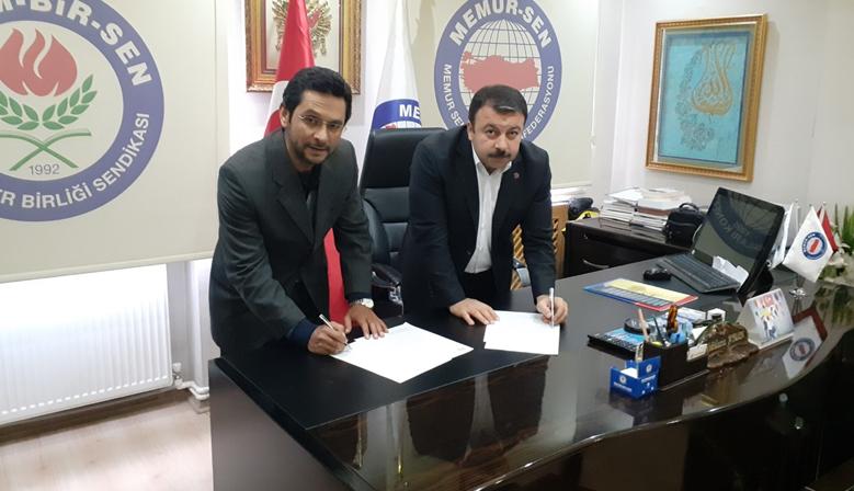 Türkiye Yazarlar Birliği ve Memur-Sen'den İş Birliği Protokolü