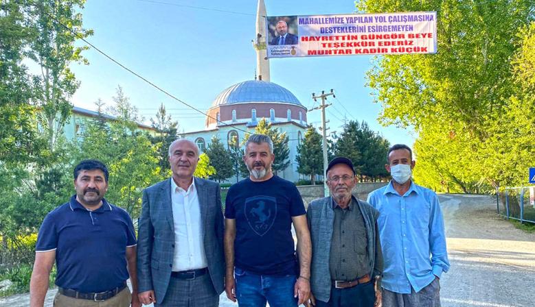 Elbistan'dan Büyükşehir'e Hizmet Teşekkürü