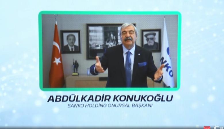 """KONUKOĞLU'NA """"ONUR ÖDÜLÜ"""""""