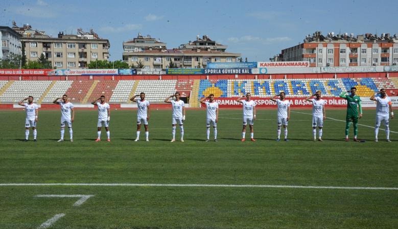 Kahramanmaraşspor 4-1 Kazandı