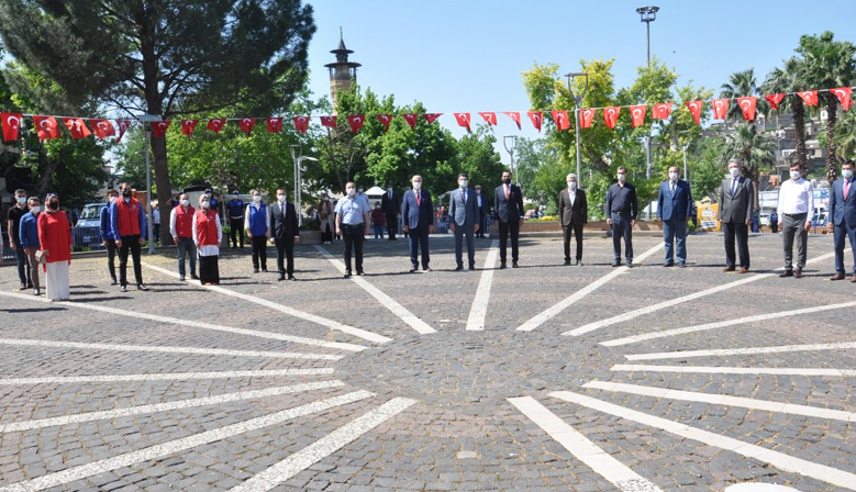Kahramanmaraş'ta 19 Mayıs kutlamaları