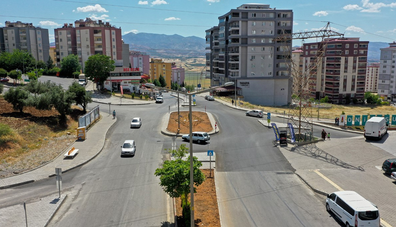 Kahramanmaraş'ta Boğaziçi Kavşağı Tamamlandı