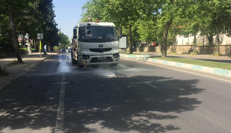 Kahramanmaraş'ta Cadde ve Sokaklar Temizleniyor