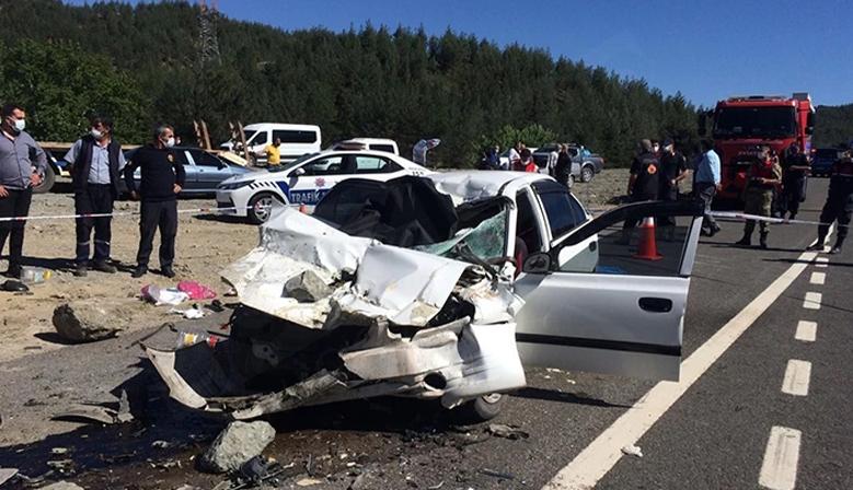 Kahramanmaraş'ta feci kaza: 4 kişi öldü