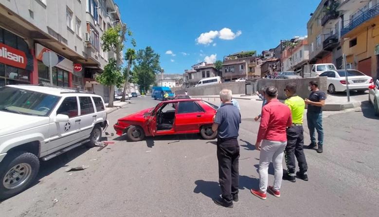 Kahramanmaraş'ta trafik kazasında 1 kişi yaralandı