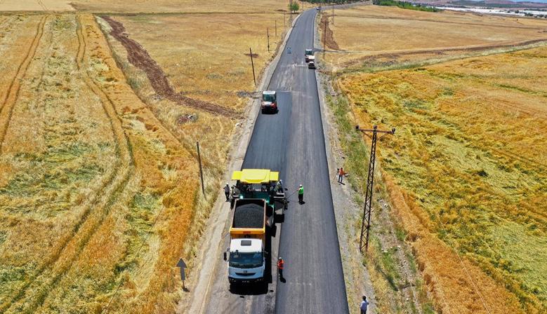 Transit geçiş sağlayacak yol tamamlanıyor